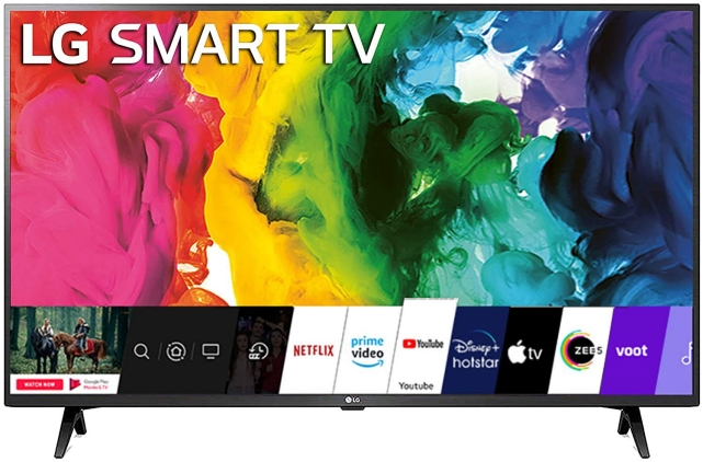 add apps to LG smart tv