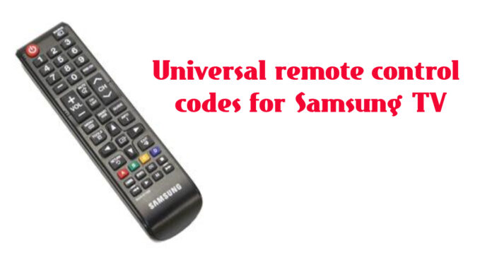 3,4 and 5 digit codes on samsung tv